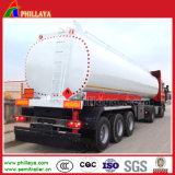 Aanhangwagen van de Tank van het Water van de Tanker van het Vervoer van het staal de Vloeibare met Facultatief Volume