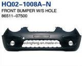 Picanto 2008.86510-07500/86511-07500를 위한 KIA 예비 품목 정면 범퍼
