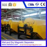 Separatore magnetico permanente del rullo per il minerale ferroso con il metodo bagnato