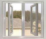 高品質のアルミニウム開き窓のWindows (粉コーティングまたはAnodizing/PVDFの終わり)