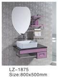 Малый шкаф ванной комнаты нержавеющей стали типа с шкафом зеркала