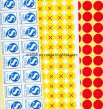 Paquete de impresión y todas las clases de etiquetas de color