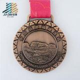 Медали горячей таможни логоса эмали сплава цинка конструкции идущие с тесемкой
