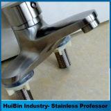 Le chrome a poli l'approvisionnement en eau de robinet de main de toilette, tarauds de lavabo