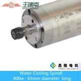 axe refroidi à l'eau de 800W Er11 400Hz 24000rpm avec 4 roulements