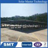 太陽電池パネルの取付金具、太陽電池パネル、太陽電池パネルのCarportのための据付