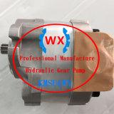 Bomba hidráulica del material de Japón y de engranaje de Technology~: 705-21-28270 para el cargador Wa380z-6