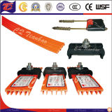 Joinless flexível Small Size Easy a Install Insulated Conductor Rail Manufature