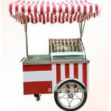 ナイジェリアのアイスクリームの通りの販売はB4-15を運ぶ