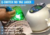 Unità di bellezza 1064nm & 532nm della macchina di rimozione del tatuaggio del laser dell'Q-Interruttore del ND YAG