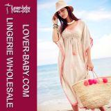 Богемское вскользь платье лета пляжа (L51282)