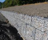 Стена Gabion высокого качества рынка Гаити шестиугольная сохраняя