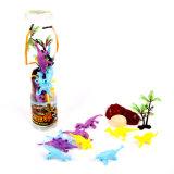 熱い販売の流行の慕わせるさまざまな形式のプラスチック恐竜のおもちゃ