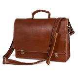 余暇様式の良質の大きい容量のラップトップ袋のブリーフケースの革ビジネス袋