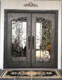 حارّ عمليّة بيع أمن عالة ضعف مدخل [ورووغت يرون] زجاج باب