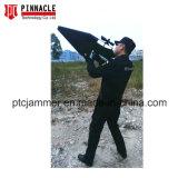 Portátil de forma potente arma de defensa de la seguridad bloqueo Uav Drone Jammer antena integrada