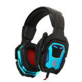 LED Lightning Gaming Headset with Mic