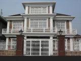Preiswerteste Preis-schiebendes Aluminiumfenster mit gerundetem Verschluss für Sozialhaus