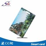 Mf 1KのマンゴスマートなOEMによって印刷されるPVCクラムシェルRFIDのカード