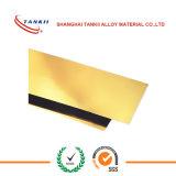 Feuille de cuivre à haute pression DIN2.1285 de la résistance C17500