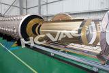 Machine titanique de métallisation sous vide de la couleur PVD de feuille d'acier inoxydable
