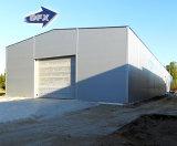 El marco de la estructura de acero de la luz de la sección de la laminación en caliente o de la soldadura H vertió la casa prefabricada