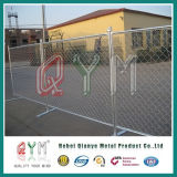 Rete fissa provvisoria di collegamento Chain della costruzione di barriera di sicurezza della costruzione della rete fissa della costruzione