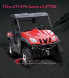 700cc 4 Stroke 4 Valve Water+Oil Cooling Efi UTV con CVT