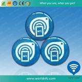 Etiqueta feita sob encomenda da impressão 30mm Ntag213 NFC