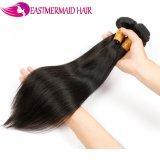 Pacotes humanos malaios do cabelo em linha reta 100% Remy do Virgin do cabelo