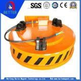 4t de capacité de levage de la série à haute température MW5 aimants de levage de grue pour plaque en acier/Industrie des matériaux de construction
