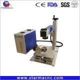 20W 30W Ipg 휴대용 소형 금속 섬유 Laser 표하기 기계
