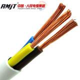 кабель Rvv медной изоляции PVC проводника 450/750V гибкий