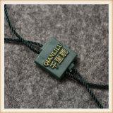 Custom Design de moda Tags Plástico Etiqueta de vedação do cabo longo