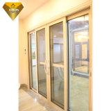 집 발코니를 위한 두 배 유리제 알루미늄 미닫이 문