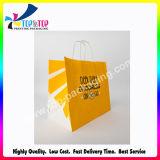 Cmyk Spot Printing Cosmetic Shopping Bag com alça de fita