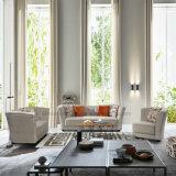 Design moderno mobiliário de sala 321 Sofá de tecido