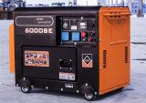 generador diesel silencioso 5kw con comienzo eléctrico de 4 movimientos