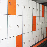 3 Portas à prova de Laminado compacto armário eletrônico