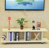 中国の工場メラミン木の現代TVの立場