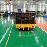 Carretón motorizado del ferrocarril para el astillero