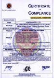certificat CE PVC Van flasque de pierre