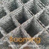 正方形の形軍かみそりのとげがある溶接された金網の塀