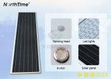 IP65 panneau solaire à haute efficacité énergétique Batterie au lithium de la rue solaire Lampes à LED