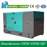 Groupe électrogène insonorisé principal du pouvoir 64kw/80kVA avec l'engine de Shangchai Sdec
