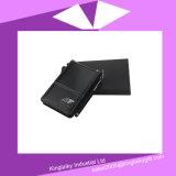 선물 상자 P016A-006에 있는 계산기와 첨필 펜을%s 가진 PU 소형 노트북
