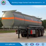 半炭素鋼の燃料のためのアルミニウム石油タンカーのトレーラーかディーゼルまたは粗野な輸送
