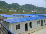 빠른 살아있는 가벼운 강철 조립식 집 노동자를 설치하십시오 Dormtories