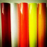 Recouvrement r3fléchissant prismatique de forte intensité jaune de couleur verte de Fluo
