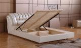 Base macia do couro da base da mobília do quarto